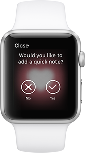 Realifex for Apple Watch - Quick Note